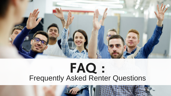 Frequently Asked Renter Questions for Landlords