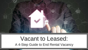 end rental vacany