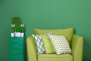 green furniture