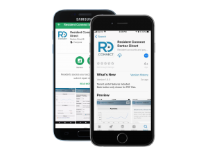 resident connect mobile app