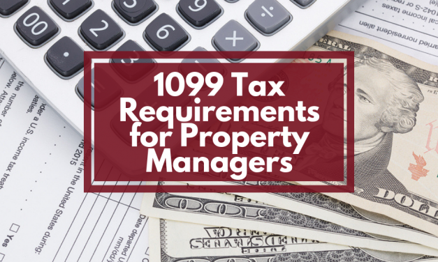 1099 Tax Requirements for Property Managers