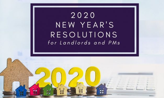 2020 New Year's Resolutions for Landlords and PMs