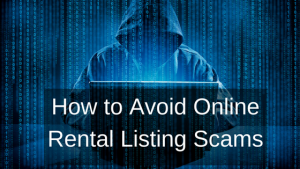 online rental listing scams