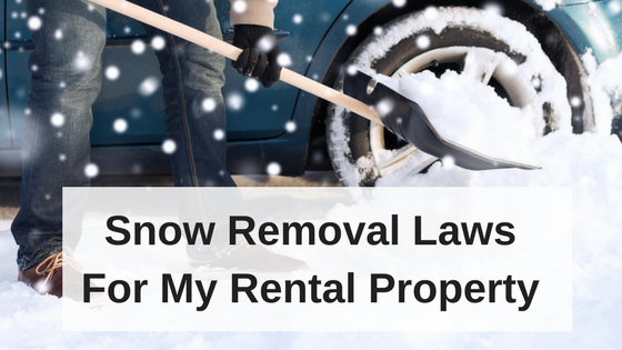 Snow Removal Laws for Rental Property