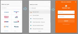 Link Bank Account Process