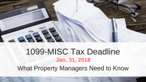 1099-MISC Tax Deadline