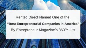 Rentec Direct Entrepreneur 360