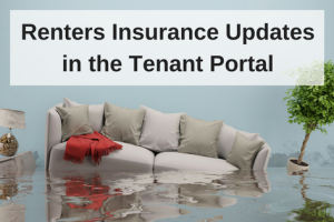 Renters Insurance Updates within the Tenant Portal
