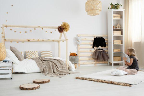 furniture-free kids room
