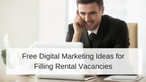 Digital Marketing ideas for rental vacancies