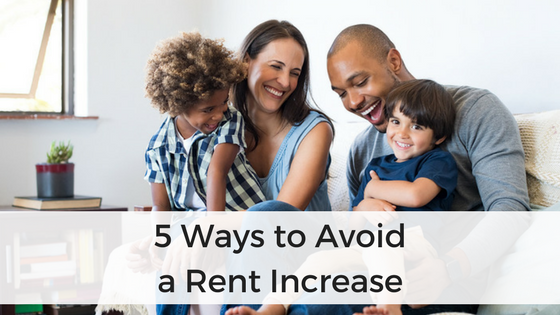 5 Ways to Avoid a Rent Increase