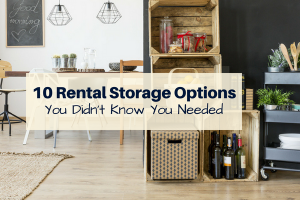 10 Rental Storage Options You Didn't Know You Needed