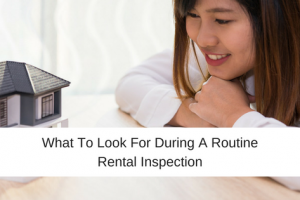 What to Look For During A Routine Rental Inspection