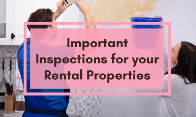 Important Inspections for Your Rental Property