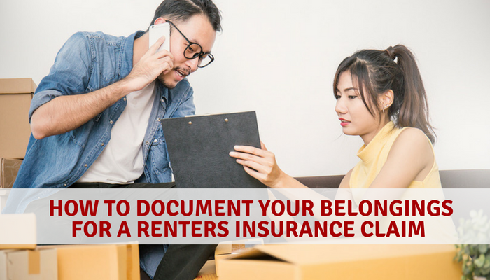 How to Document Your Belongings For Renters Insurance