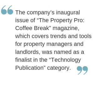 property pro coffee break RentecDirect magazine