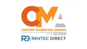 Rentec Direct Content Marketing Awards Finalist