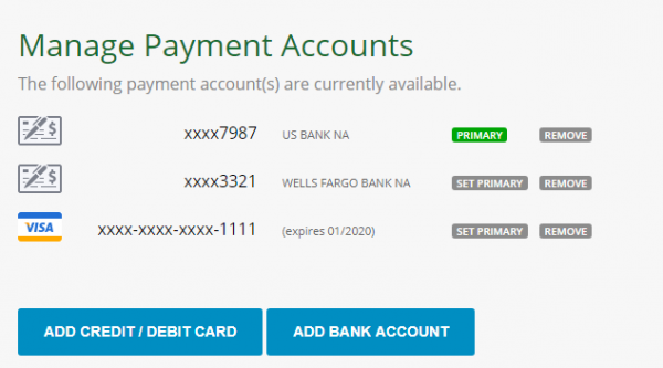 recurring rent payments via credit card  new feature