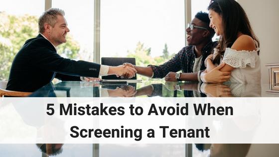 screening a tenant