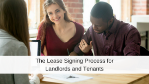 lease signing process