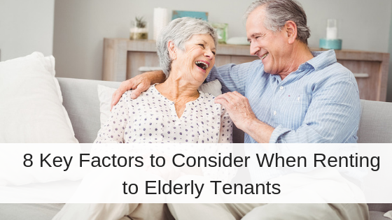 elderly tenants
