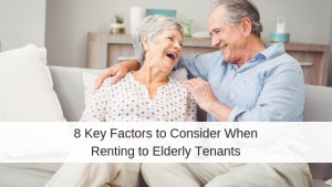 elderly tenants