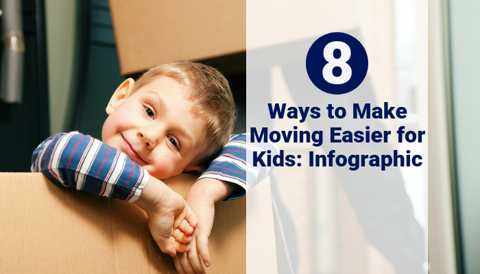 8 Ways to Make Moving Easier for Kids: Infographic