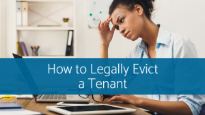 evict a tenant