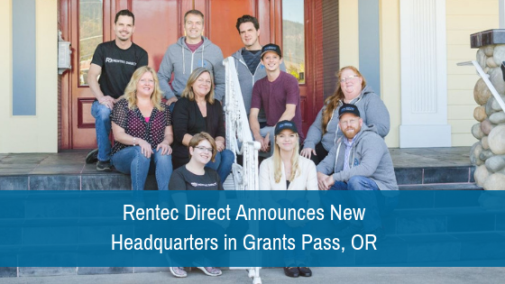 Rentec Direct Announces New Headquarters in Grants Pass, OR