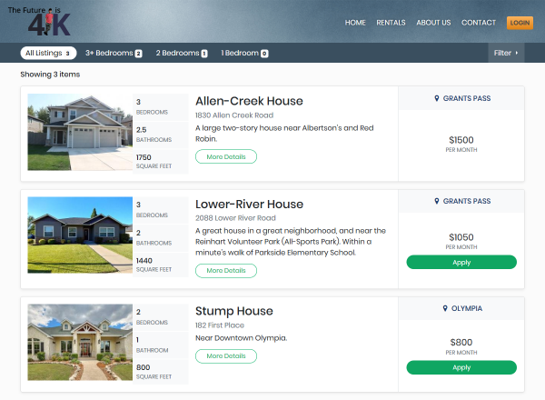 property listing page Rentec Direct