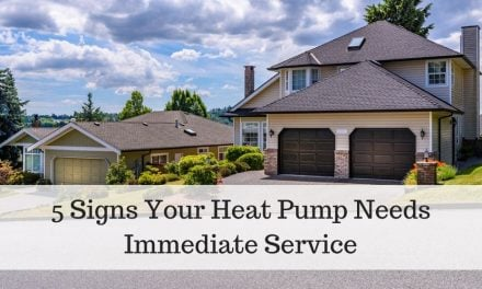 5 Signs Your Heat Pump Needs Immediate Service