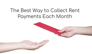 collect rent payments