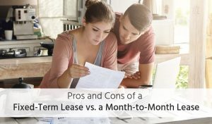 fixed-term lease vs short-term lease