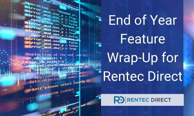 End of Year Feature Wrap-Up for Rentec Direct