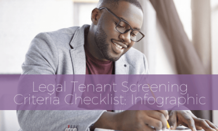 Legal Tenant Screening Criteria Checklist: Infographic