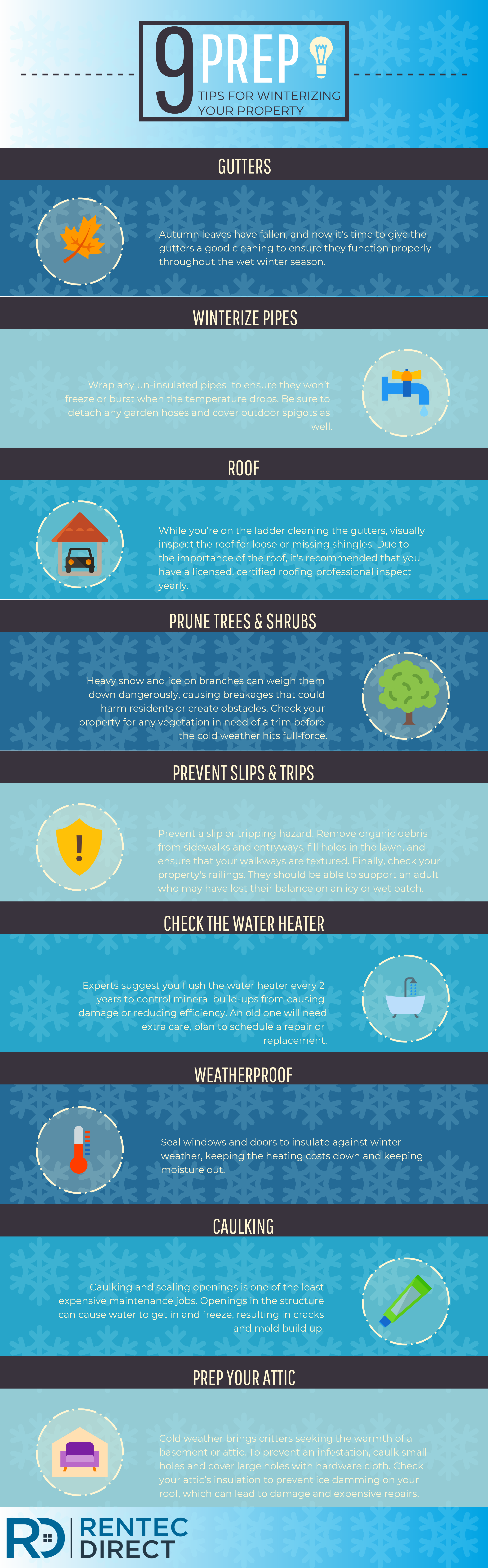 winterize your property