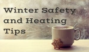 winter safety and heating