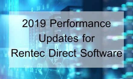 2019 Performance Updates for Rentec Direct Software