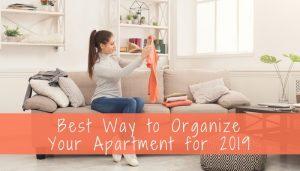 organize your apartment