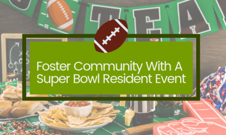 Foster Community with A Super Bowl Resident Event: Infographic