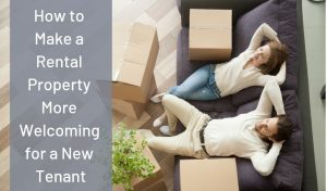 Welcome a new renter