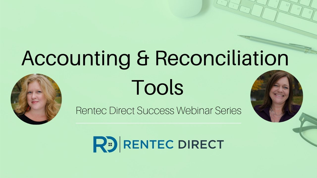 Accounting and Reconciliation Rentec Direct