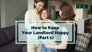 keep landlord happy