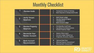 accounting monthly checklist