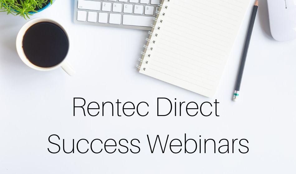 Rentec Direct Webinars