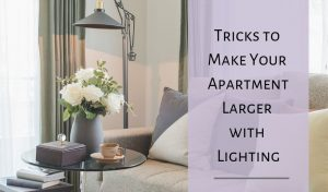 Lighting tips for small spaces