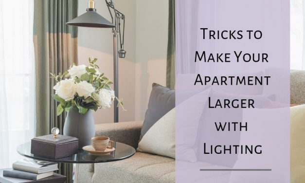Tricks to Make Your Apartment Larger with Lighting