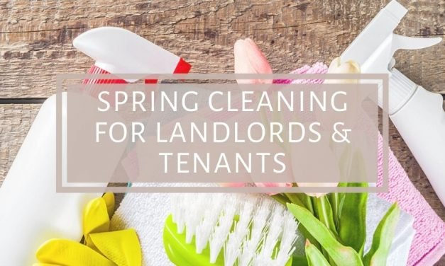 Spring Cleaning for Landlords & Tenants