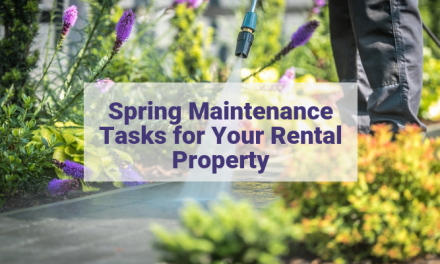 Spring Maintenance Tasks for Your Rental Property