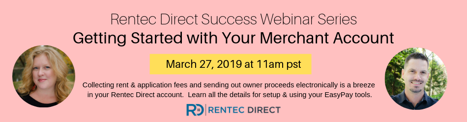 Rentec Direct merchant account